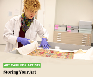 Art Care for Artists: Storing Your Art