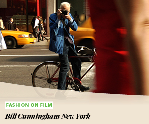 Fashion on Film: Bill Cunningham New York