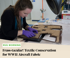 Frass-tacular! Textile Conservation for WWII Aircraft Fabric