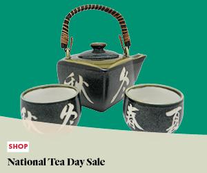 Shop Event: National Tea Day Sale