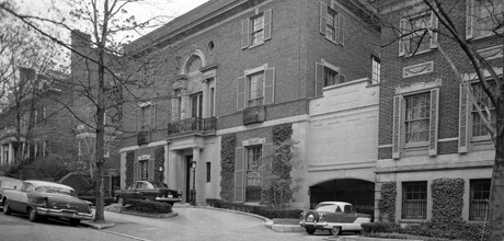 The Textile Museum's original home in Washington D.C.'s Kalorama neighborhood