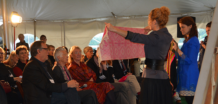 """""""Show and Tell"""" program during the museum's 41st-annual Fall Symposium weekend."""