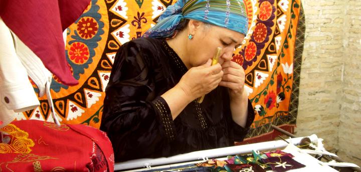 Photo from study tour to Uzbekistan