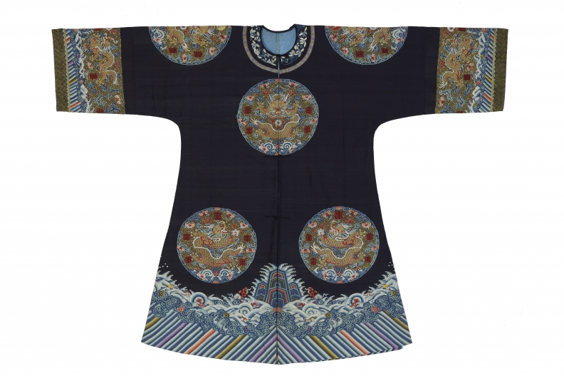 Empress or empress dowager's surcoat (long Gua), worn during wedding celebrations, China