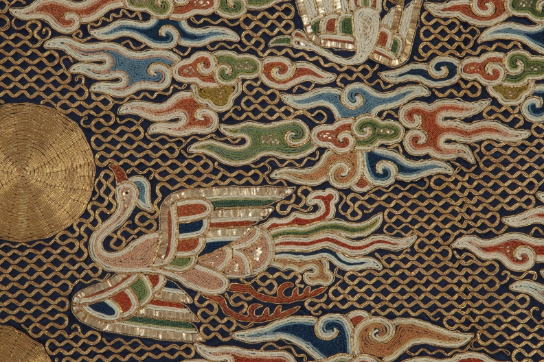 Detail of Daoist priest's robe, China