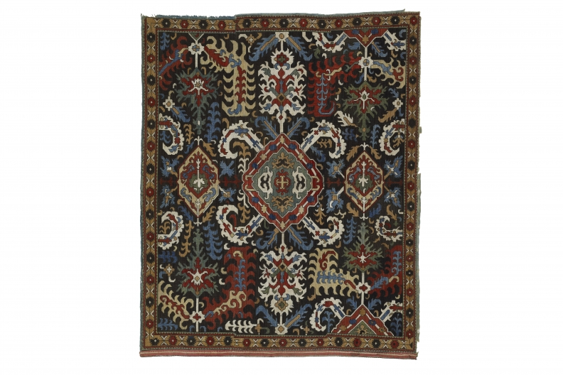 Embroidered panel, Caucasus