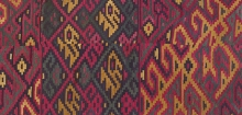 Detail of Peruvian tunic