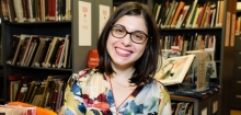 Photo of Librarian Tracy Meserve