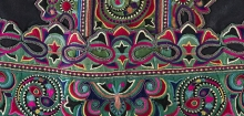 Detail of woman's jacket