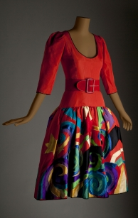 Yves Saint Laurent 'Picasso' evening dress