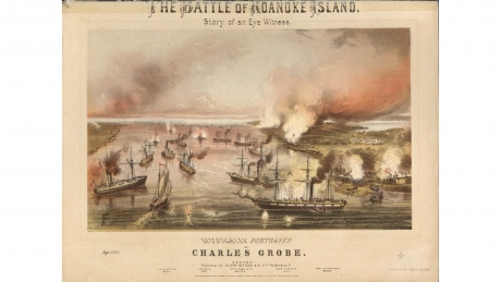 The Battle of Roanoke Island; Story of an Eye Witness