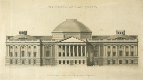 The Capitol at Washington – Elevation of the Principal Front