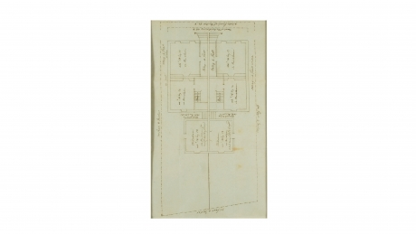 Floor plan of two rental houses on Capitol Hill