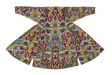 Woman's robe (back), Central Asia