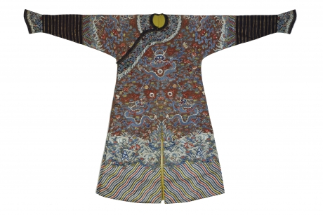Front of dragon robe, China