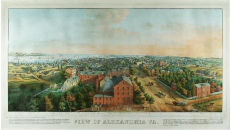 View of Alexandria, Va.