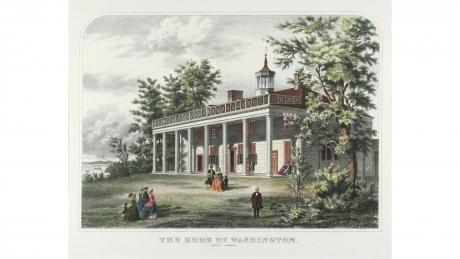 The Home of Washington, Mount Vernon, Va.