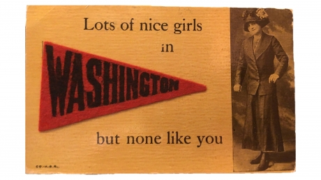 Lots of nice girls in Washington but none like you