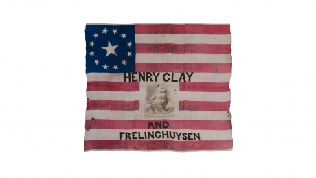 13-Star Henry Clay campaign flag