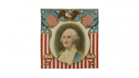 George Washington pillow cover