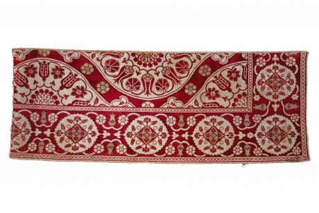 Loom-width fragment of a velvet cover, Bursa