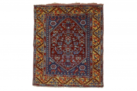 Carpet with floral design, Demirci