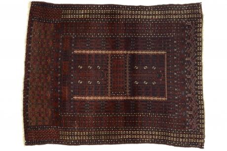 Door rug, Central Asia