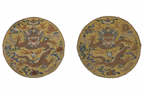 Imperial insignia roundels, China