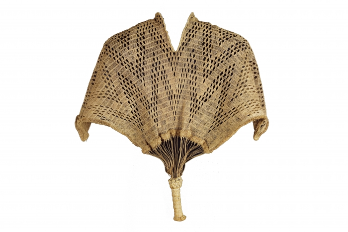 Chief's tunic or cape, (Kinzembe or Zamba Kya Mfumu), D.R. Congo or Angola