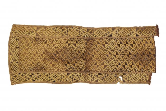 Noblewoman's ceremonial overskirt, Shoowa people, D.R. Congo