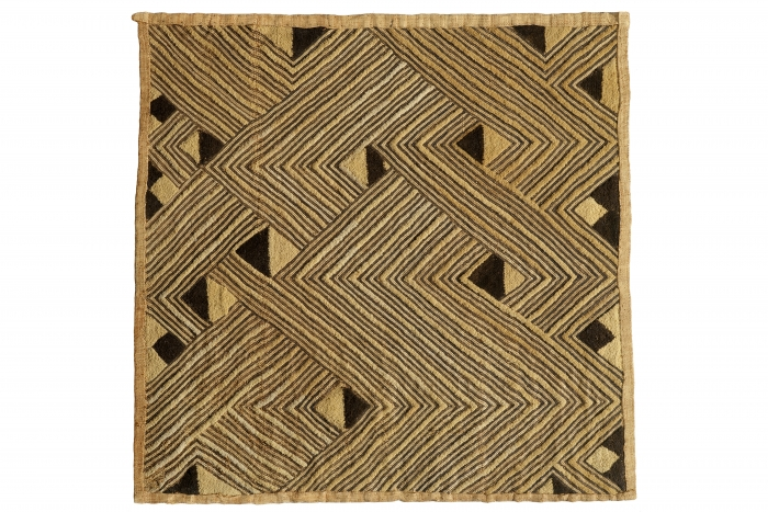 Man's status cloth, Shoowa people, D.R. Congo