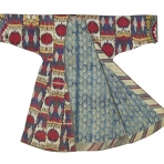 Woman's robe (front), Central Asia
