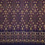 Detail of skirt, Thailand