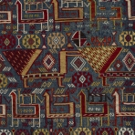 Detail of horse cover, northwestern Iran or Caucasus