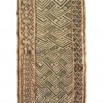 Noblewoman's ceremonial overskirt, Bushong people, D.R. Congo