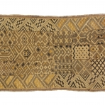 Noblewoman's ceremonial overskirt, Mbeengi people, D.R. Congo