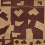 Detail of man's ceremonial skirt, Kuba people, D.R. Congo