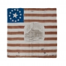 13-Star William Henry Harrison campaign flag