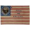 27-Star James K. Polk campaign flag