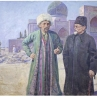 Akhun-babayev with Kallinin