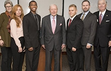 Photo of presenters at the Washingtoniana Symposium