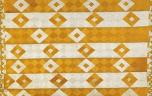 Detail of phulkari with diamond pattern