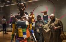 Ebony Fashion Fair Exhibit Opens