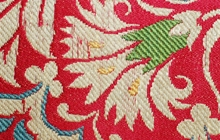 Fragment of a floral serenk from a costume, The Textile Museum 1.57