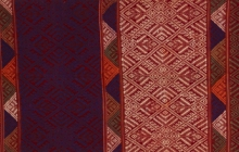 Detail of shoulder cloth, Laos, The Textile Museum 1990.5.2