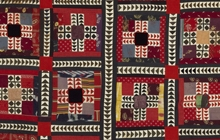 Detail of hanging or cover, Central Asia, The Textile Museum 1995.2.1.
