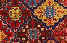 East Caucasian rug