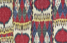 Detail of woman's robe, Central Asia