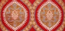 Detail of Ottoman fabric length