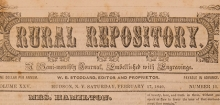 Detail of newspaper